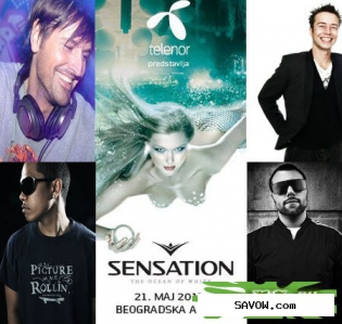 Sensation White (Belgrade, Serbia) (21-05-2011)