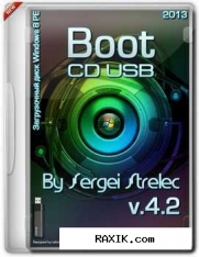 Boot sergei strelec 2013 v.4.2 (cd/Usb)