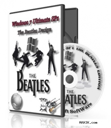 Windows 7 ultimate sp1 the beatles design by startsoft 23-24 (x86/X64)