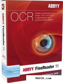 Abbyy finereader 11.0.102.583 corporate edition (2011) pc
